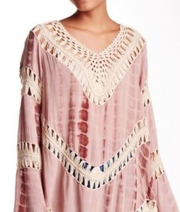 California Moonrise Crochet Tie Dye Flowy Tunic
